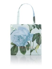 Mint distinguished rose small tote bag