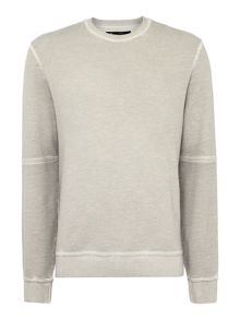 Label Lab Water crew neck oil wash sweat