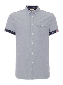Limited Short Sleeve Shirt With Print Detail