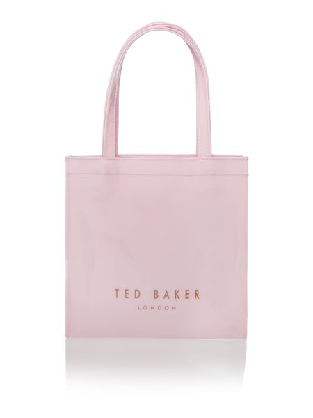 Ted Baker Pale pink small bowcon tote bag
