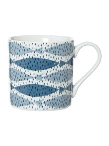 BLUE SEASCAPE MUG