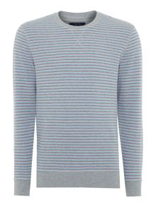 Owen Stripe Crew Neck Jumper