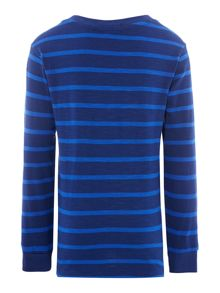 Boys Stripe Slub Jersey T-Shirt