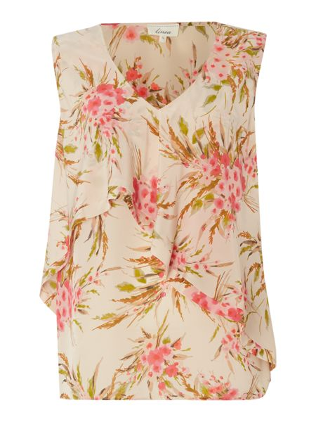 Linea Floral layered blouse