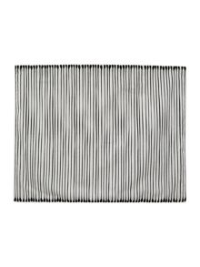Mono set of 2 stripe placemat