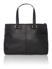 Lizzy black large tote bag