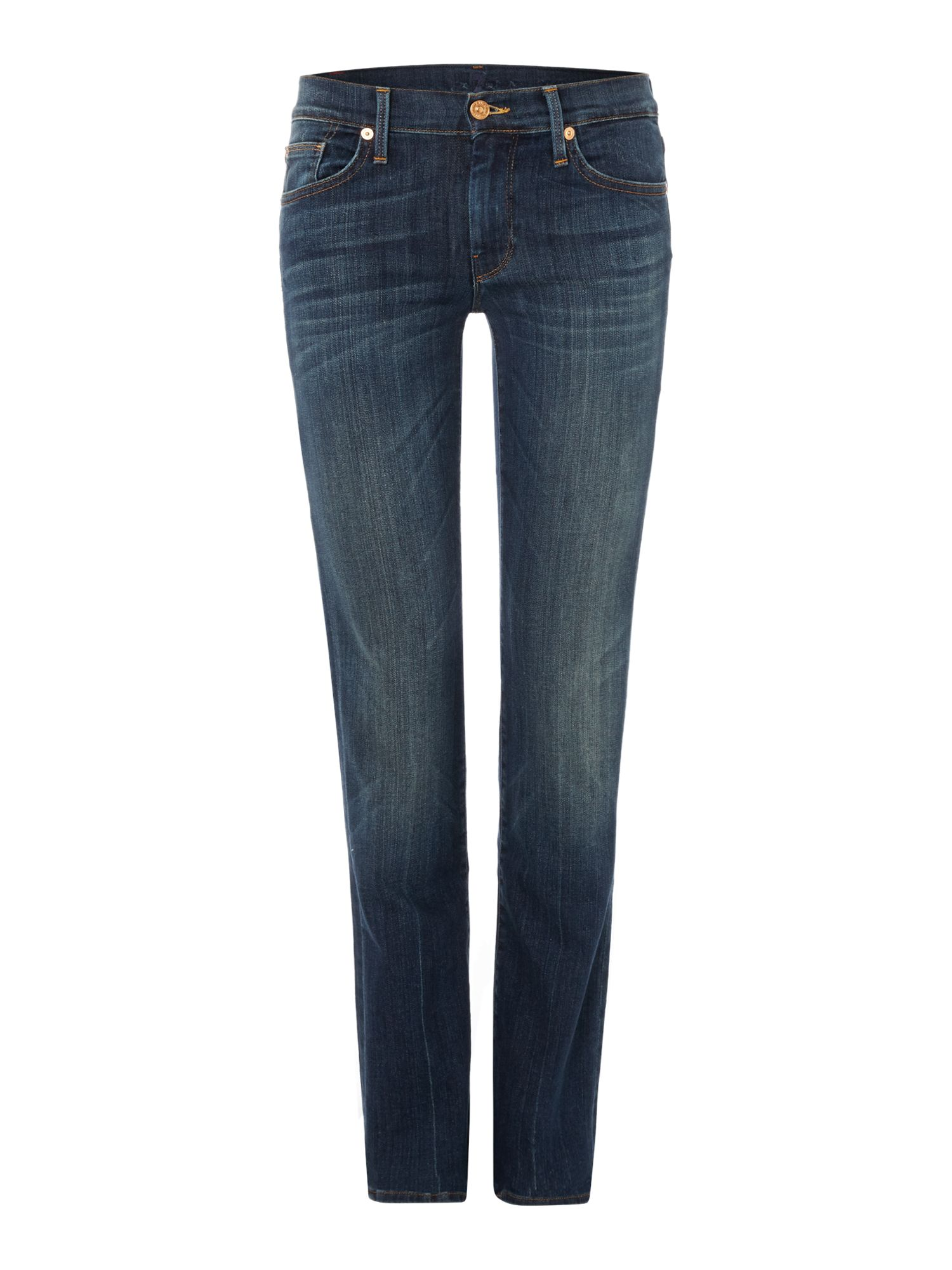 7 For All Mankind 7 For All Mankind Straight leg jeans in Brooklyn Dark, Denim Mid Wash