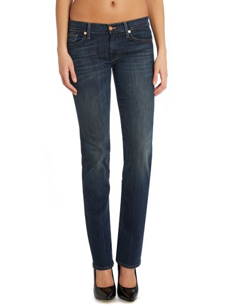 7 For All Mankind Straight leg jeans in Brooklyn Dark