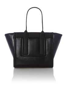 Carsten black large tote bag