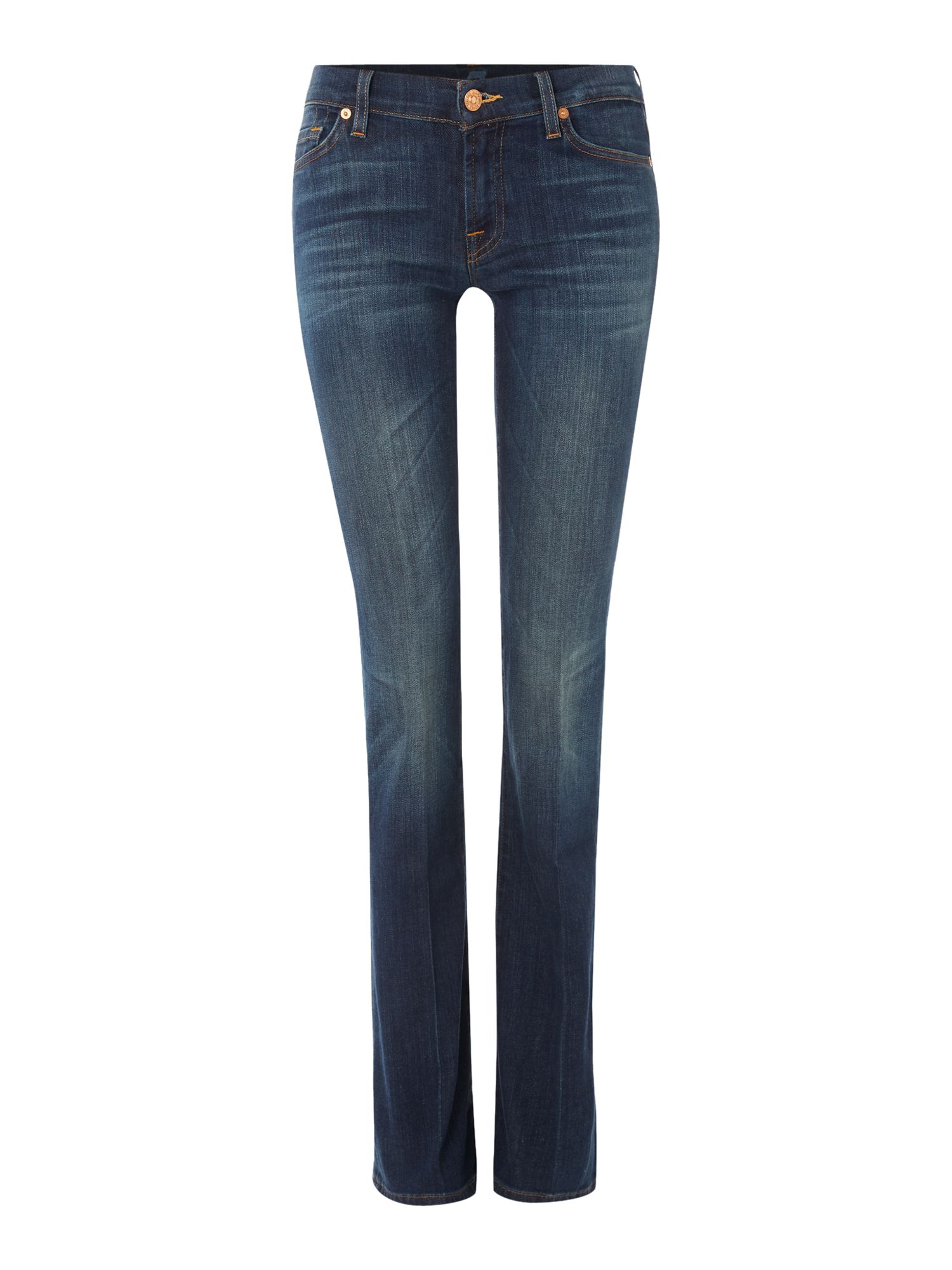 7 For All Mankind 7 For All Mankind Bootcut jeans in Brooklyn Dark, Denim Mid Wash