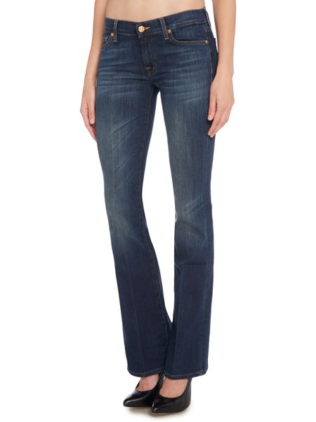 7 For All Mankind Bootcut jeans in Brooklyn Dark