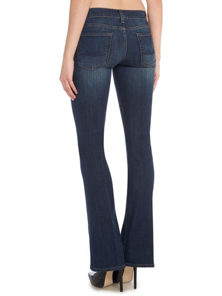 7 For All Mankind Bootcut jeans in Brooklyn Dark Denim Mid Wash ...