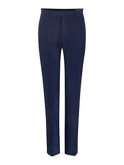 Burlow Linen Tailored Fit Suit Trousers