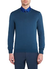 Kenneth Cole Corey Fine Knit Crew Jumper