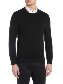 Kenneth Cole Tristian Textured Crew Knit Jumper