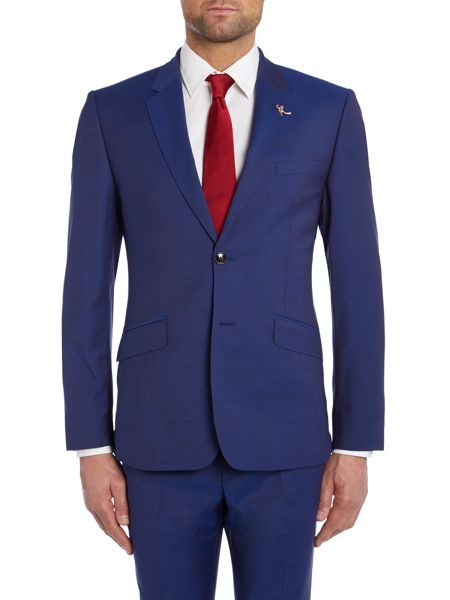 Ted Baker Cadi Bright Blue Slim Fit Suit Jacket