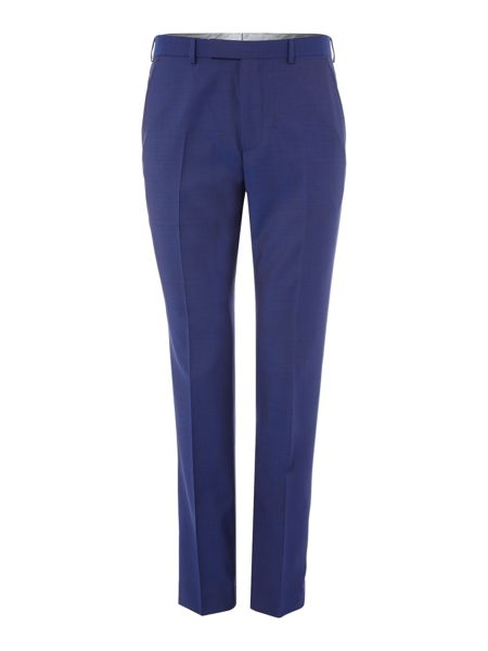 Ted Baker Cadi Slim Fit Bright Blue Solid Suit Trouser
