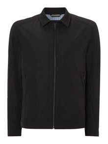 Collared zip up jacket