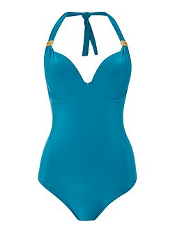 Goddess Large Cup Tummy Control Swimsuit