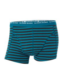 3 pack stripe and plain underwear trunk