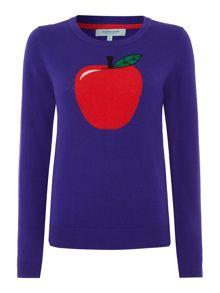 Apple knit jumper