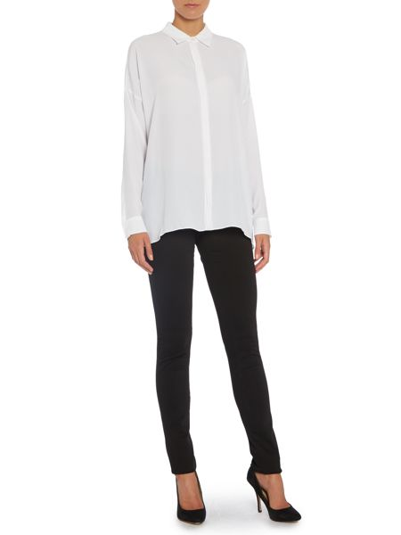 Sportmax Code Longsleeve colour back shirt
