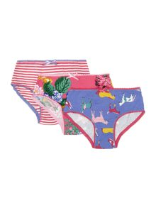 Girls horse print knickers