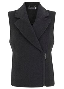 Charcoal Unlined Gilet