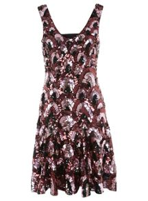 Ruby Fit And Flare Dress