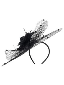 Malina disc fascinator