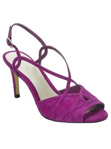 Ally suede strappy sandals