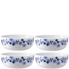 Ink Cereal/Soup Bowl Ø15cm Indigo x 4