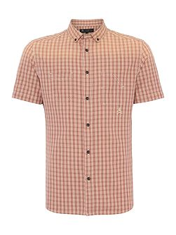 Men's Label Lab Driver Check Short Sleeve Shirt