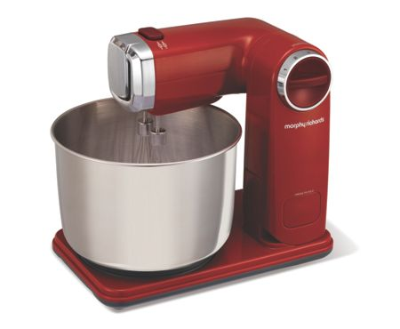 Morphy Richards Folding Stand Mixer 400404 red