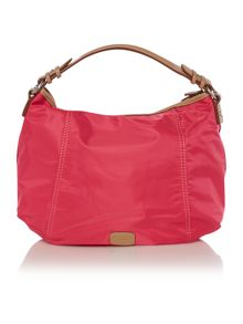 Tibberton pink medium hobo bag