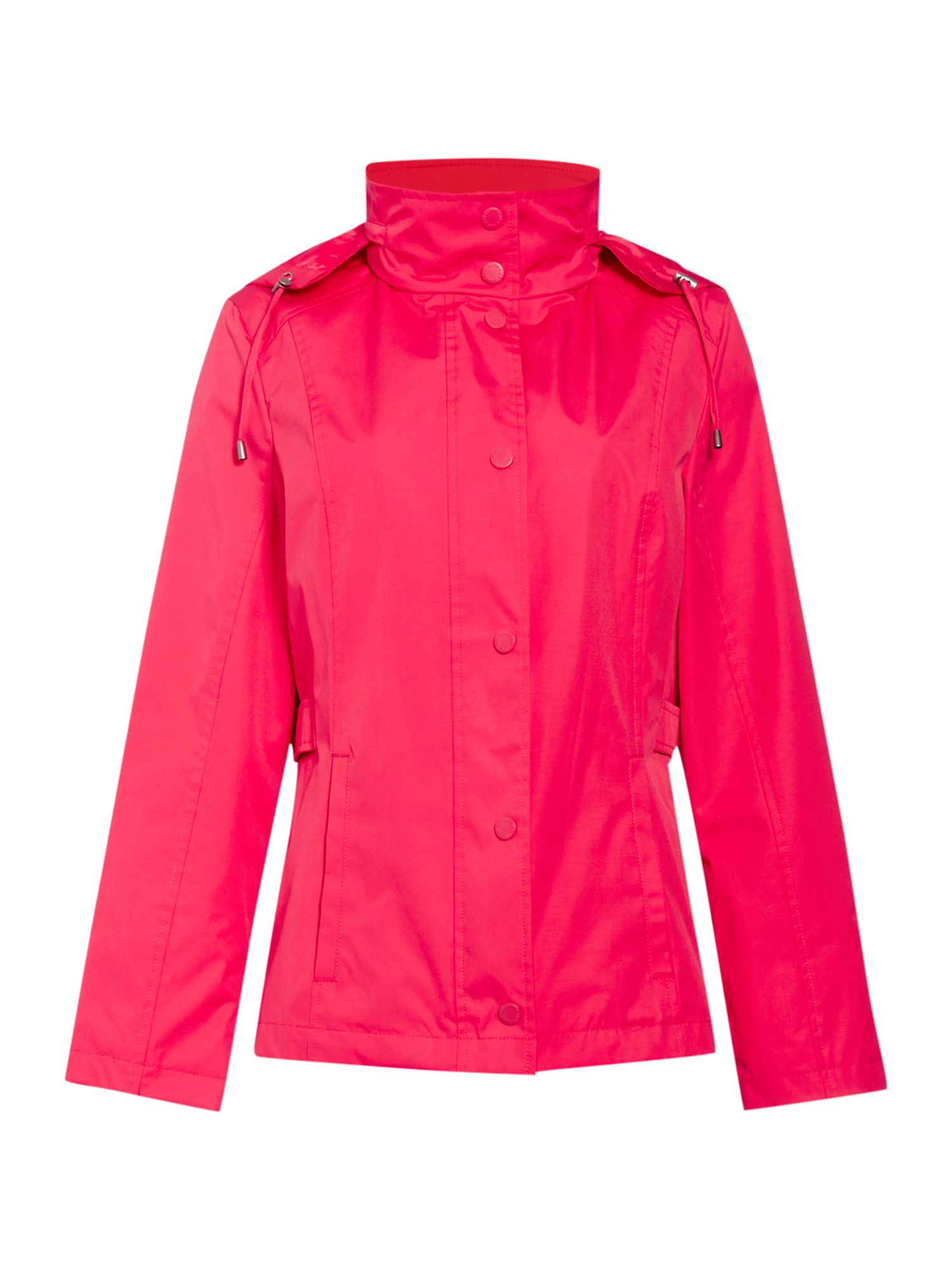 Cloud Nine Short jacket with packaway hood, Pink