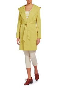 Cloud Nine Lightweight hooded wrap jacket