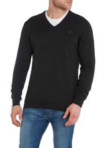V-Neck Cotton Cashmere