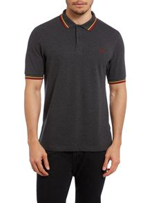 Twin tipped SLIM fit polo shirt