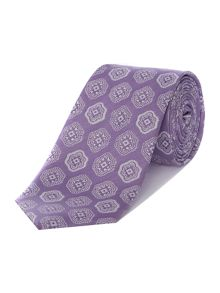 Ted Baker Nament Paisley Geometric Print Tie