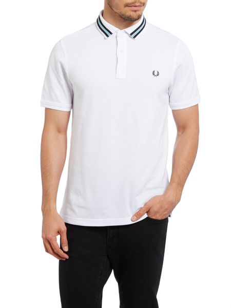 Fred Perry Tape collar slim fit polo