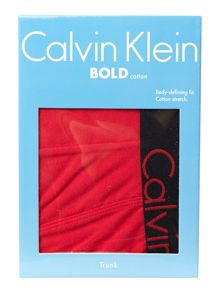 Bold cotton underwear trunk