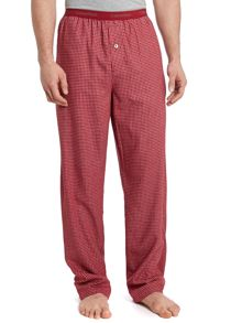 Flannel hunter check pant