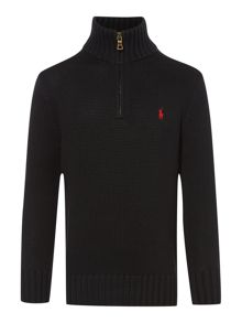 Boys Half Zip Jumper