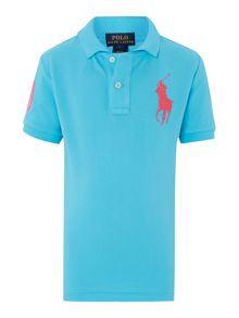 Boys polo with big pony