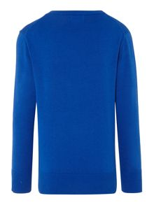 Boys premium vee neck jumper