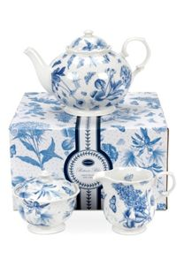 Botanic Blue Tea Set