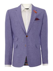 Chia Slim Fit Linen Jacket