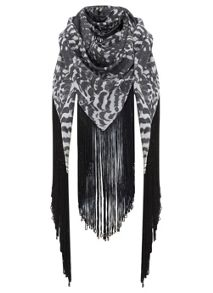 Tansy Fringe Scarf