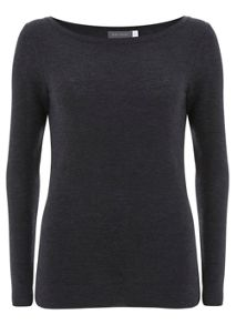 Charcoal Skinny Knit
